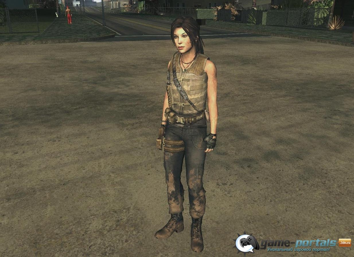 Lara nude san andreas cartoon comics