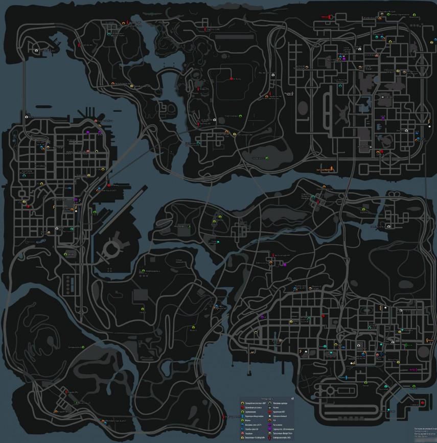 Как сделать карту квадратами в samp
